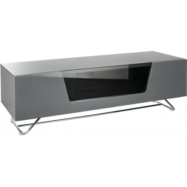 """Alphason Chromium 1200 Grey TV Stand for up to 60\"""" TVs"""