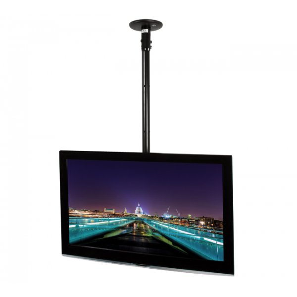 B-Tech 1800mm Tilting Ceiling TV Mount System - Custom