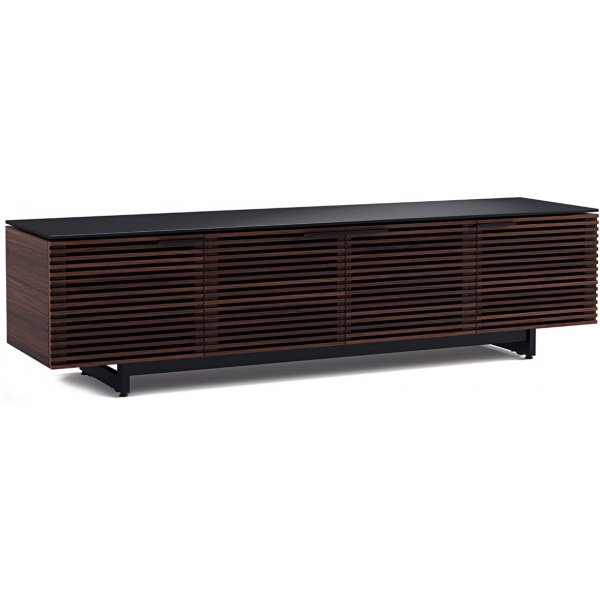 """BDI Corridor 8173 Chocolate Walnut TV Stand for up to 85\"""" TV\'s"""