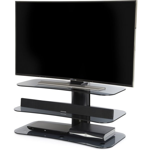 """Off The Wall Arc 1000 Flat Panel TV Stand for up to 55\"""" - Grey"""