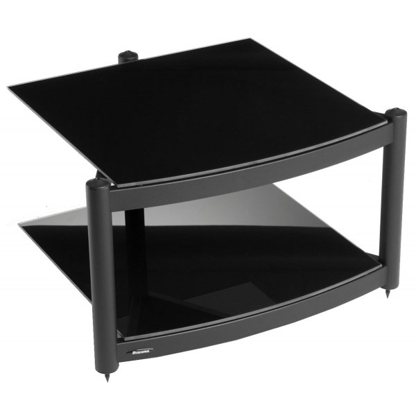 Equinox Black 2 Shelf R.S HiFi Stand