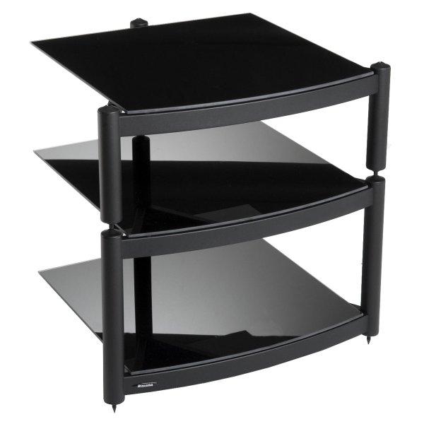 Equinox Black 3 Shelf R.S HiFi Stand