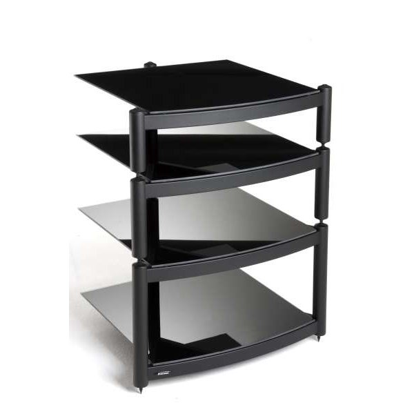 Equinox Black 4 Shelf R.S HiFi Stand