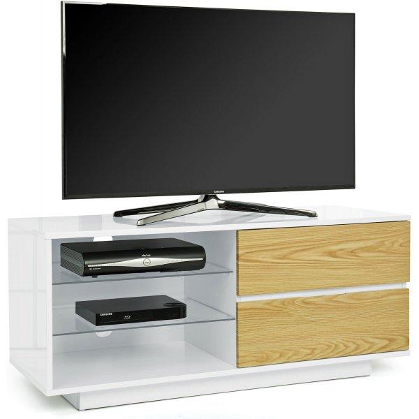 MDA Gallus White and Oak TV Cabinet