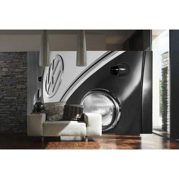 1Wall Volkswagen Camper Van Wall Mural - Black & White