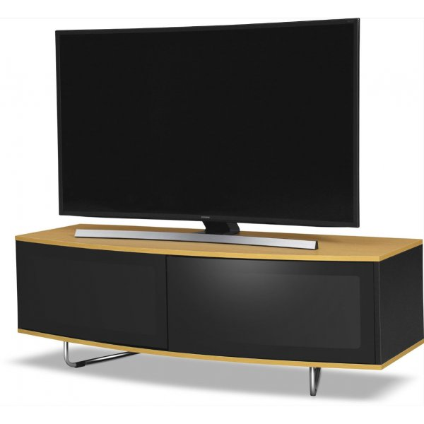 "MDA Designs Caru TV Stand for up to 65"" TVs - Oak"