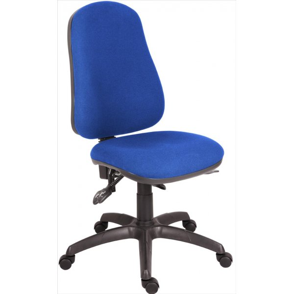 Teknik Ergo Comfort Executive Operator Desk Chair - Blue