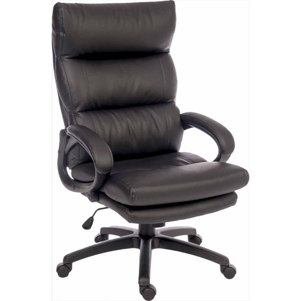 Teknik Luxe Executive Desk Armchair - Black