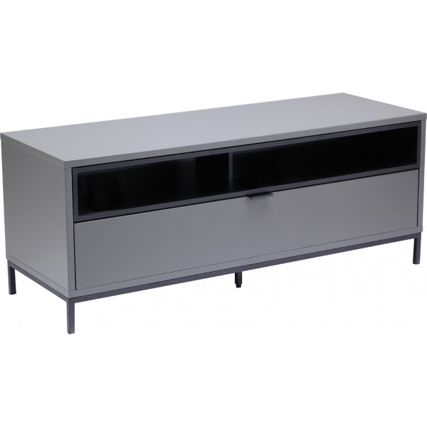 """Alphason Chaplin 1135 TV Stand for TVs up to 60\"""" - Charcoal"""