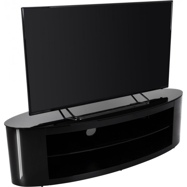 AVF Buckingham FS1400BUCB Black TV Stand for up to 65""