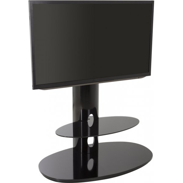 AVF FSL930CHEB Chepstow Black TV Stand with Bracket for up to 65""