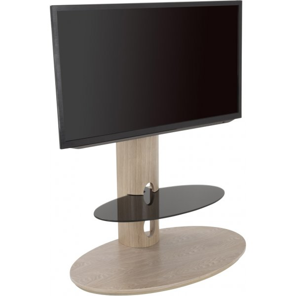AVF FSL930CHEOW Chepstow Washed Oak TV Stand with Bracket for up to 65""