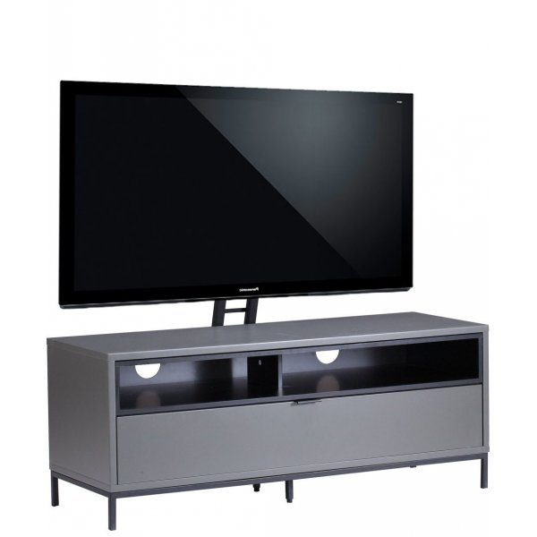 """Alphason Chaplin 1135 Cantilever TV Stand for TVs up to 65\"""" - Charcoal"""