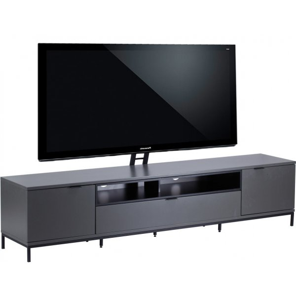 """Alphason Chaplin 2000 Cantilever Stand for TVs up to 65\"""" - Charcoal"""