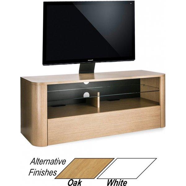 "Alphason Hugo 1260 Cantilever Stand for TVs up to 65\"" - Light Oak"