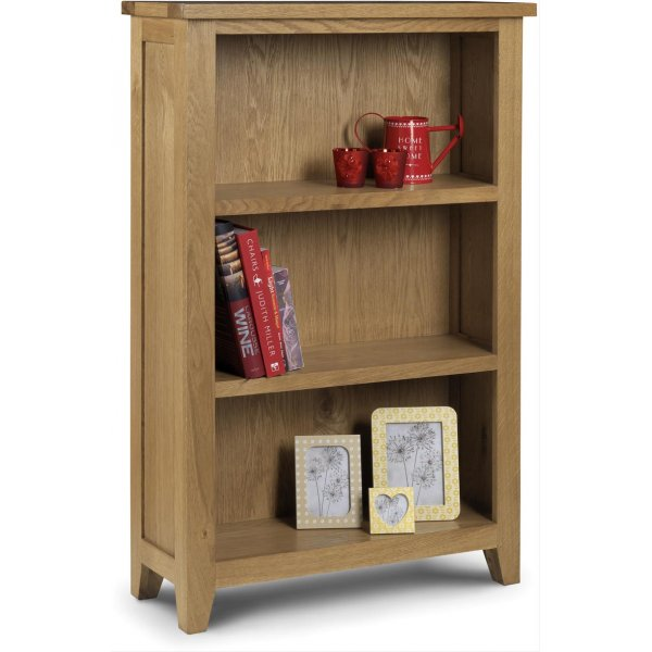 Julian Bowen Astoria Oak Low Bookcase