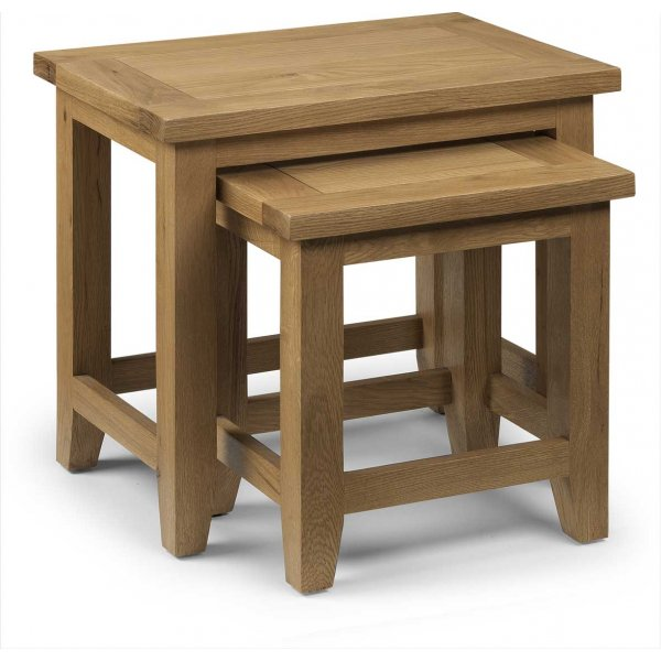 Julian Bowen Astoria Nest of 2 Tables
