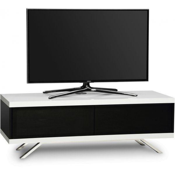 "MDA Designs Tucana Hybrid TV Stand for upto 60\"" TVs - White"