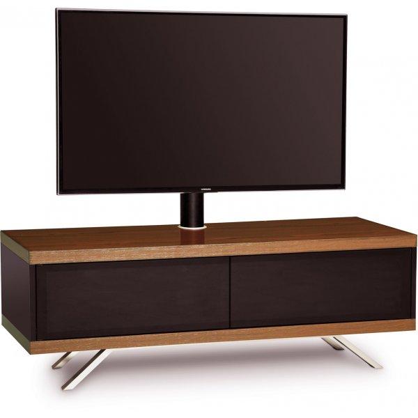 "MDA Designs Tucana Hybrid Cantilever TV Stand for upto 60\"" TVs - Walnut"