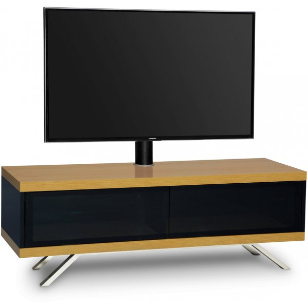 "MDA Designs Tucana Hybrid Cantilever TV Stand for upto 60"" TVs - Oak"