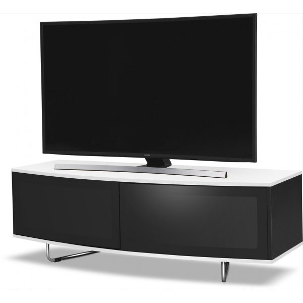 """MDA Designs Caru TV Stand for up to 65\"""" TVs - White"""