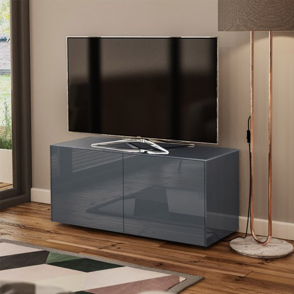 """Frank Olsen INTEL1100GY Grey TV Cabinet For TVs Up To 55\"""""""