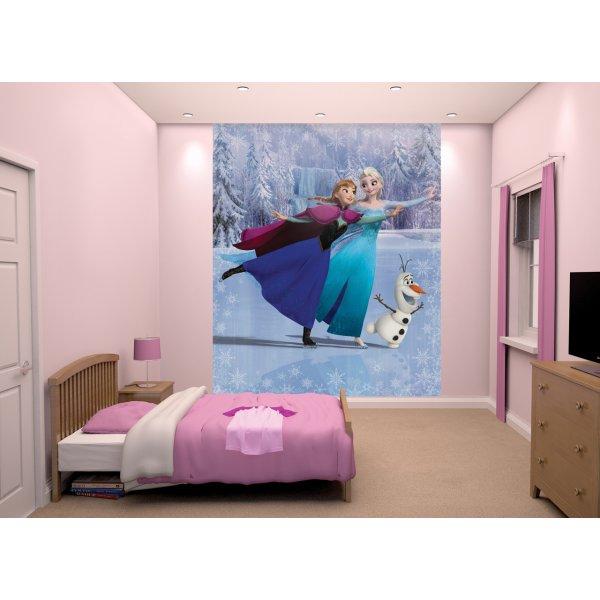 Walltastic Disney Frozen Skating Wallpaper 8ft x 6ft 6� Mural