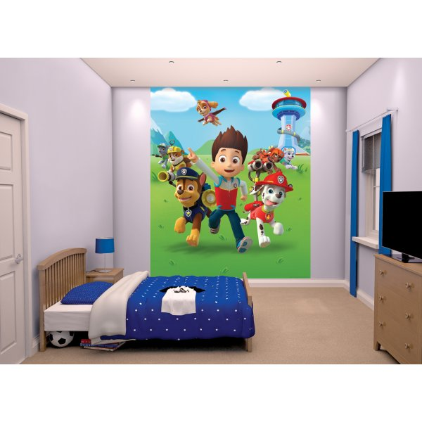 Walltastic Paw Patrol Wallpaper 8ft x 6ft 6� Mural