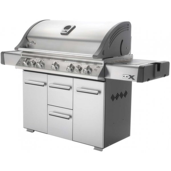 Napoleon LEX730RSBI BBQ with Side Burner, Infrared Bottom and Rear Burners