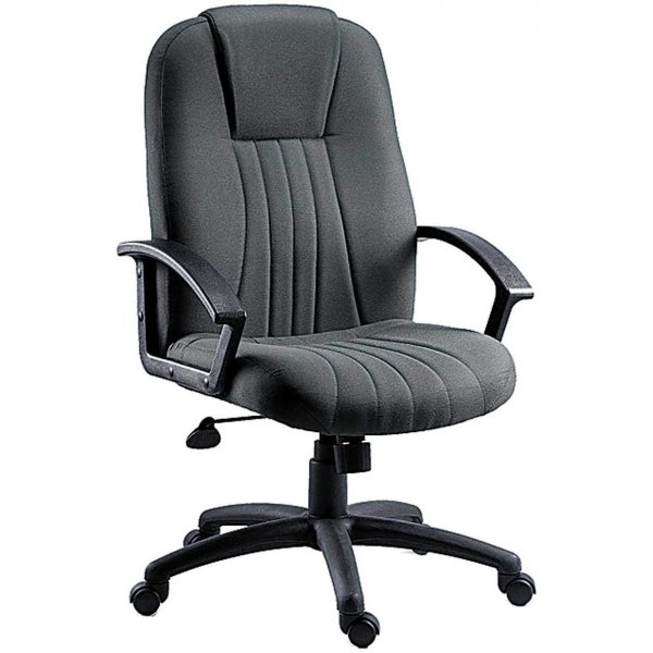 DSK City Fabric Executive Armchair - Charcoal