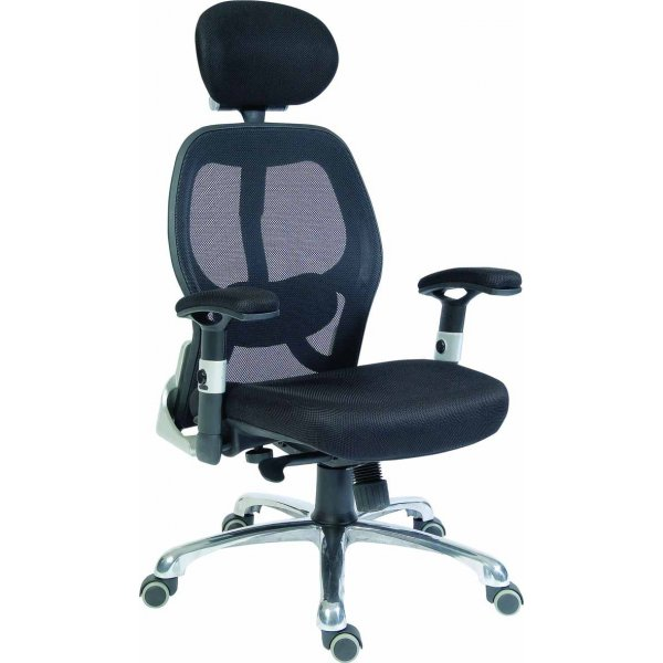 DSK Cobham Luxury Mesh Executive Chair - Black
