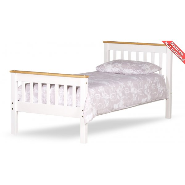 Amani Townfield Single Bed Frame - No Drawers