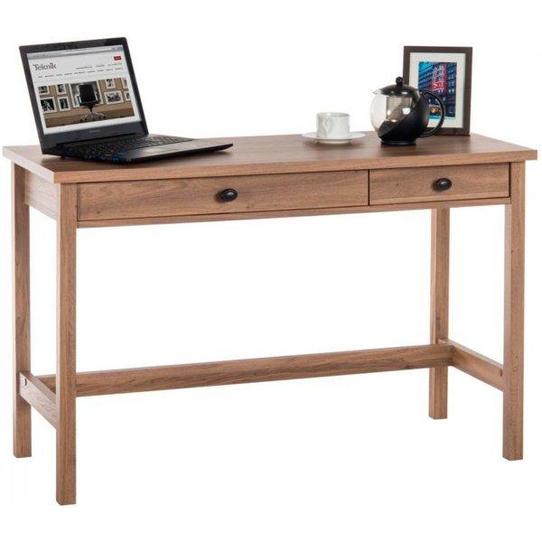 DSK Salt Oak Home Office Study Desk
