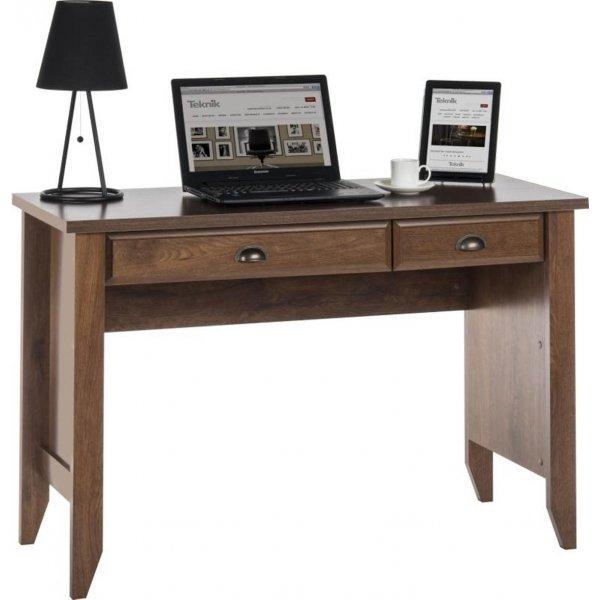 DSK Oiled Oak Home Office Laptop Desk