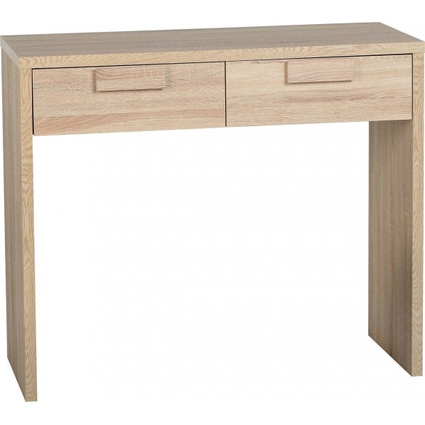 ValuFurniture Cambourne 2 Drawer Dressing Table - Sonoma Oak Effect