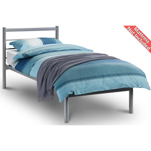 Julian Bowen Alpen Aluminium Bed Frame - Small Single