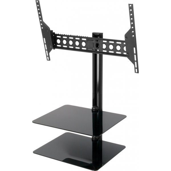 "AVF Universal All in One Tilt & Turn TV Bracket with Shelves for up to 55"" TVs"