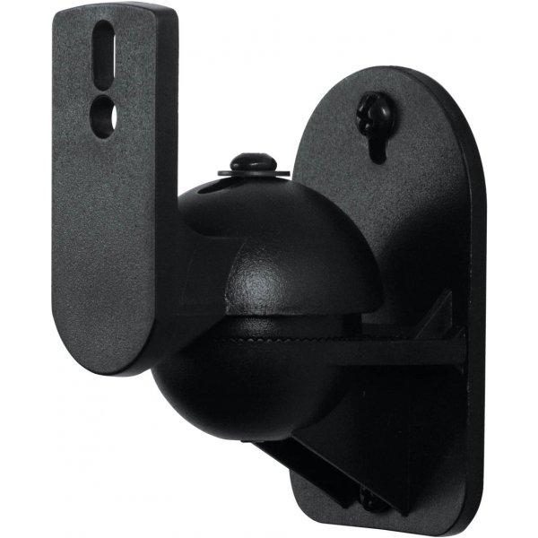 AVF Universal Pair of Speaker Wall Mounts - Small - Black