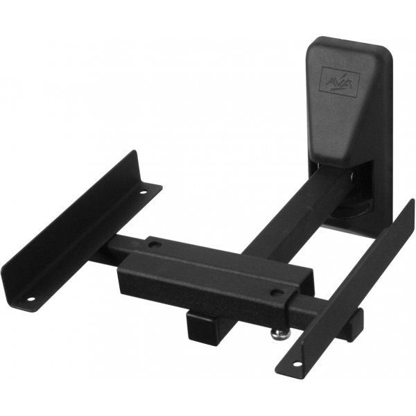 AVF EAK70B Universal Pair of Speaker Wall Mounts - Large - Black