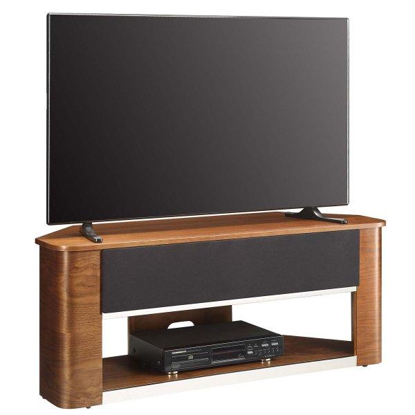 Jual Havana Acoustic Walnut Corner TV Stand