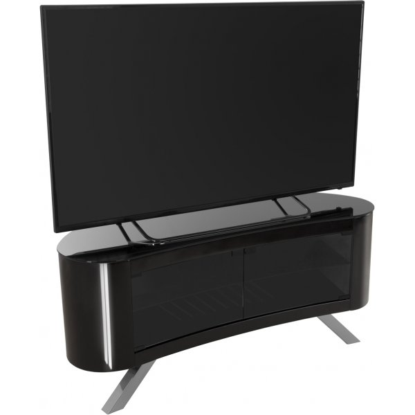 """AVF Bay Curved TV Stand For up to 55\"""" TVs - Black"""