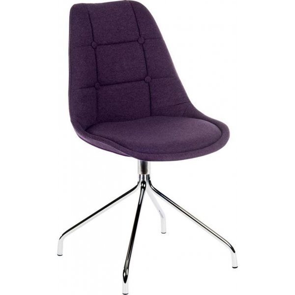 DSK Purple Pair of Breakout Chairs