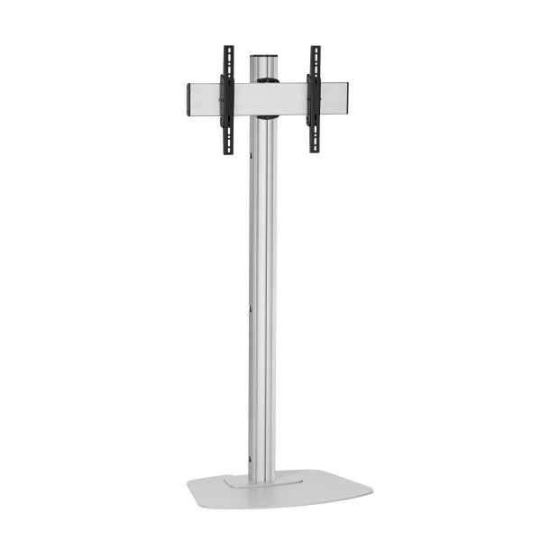"Vogels F1544S Single Pole Floor Stand For up to 65"" TVs - 1.5m - Silver"