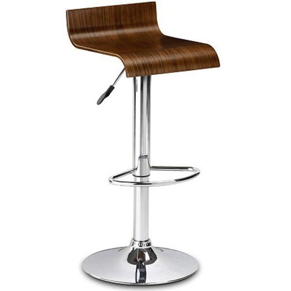 Julian Bowen Stratos Stool - Walnut Seat