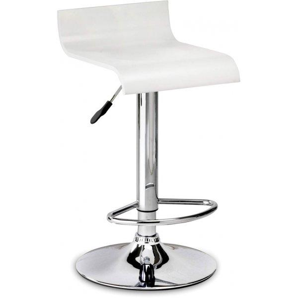 Julian Bowen Stratos Stool - White Seat