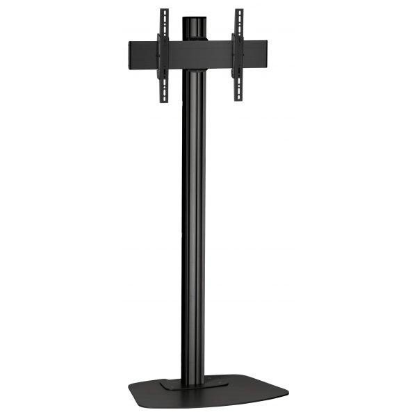 "Vogels F1844B Single Pole Floor Stand For up to 65"" TVs - 1.8m - Black"