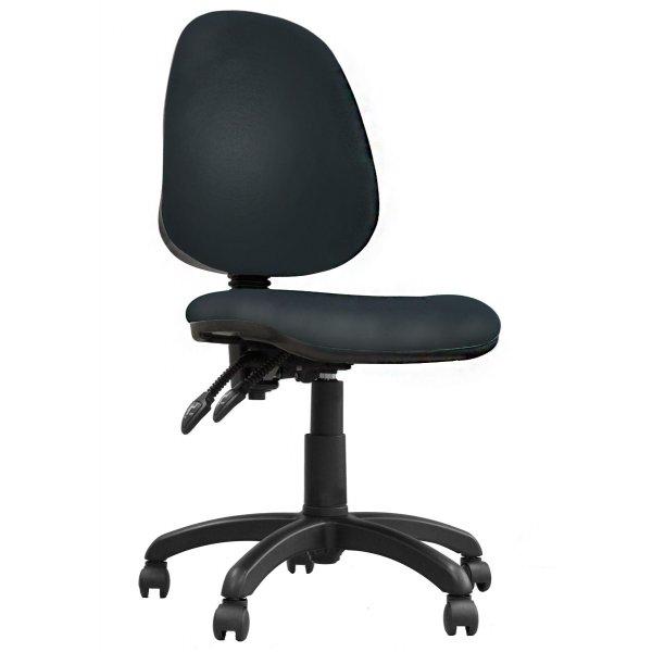DSK Java 200 Black High Back Task Operator Chair