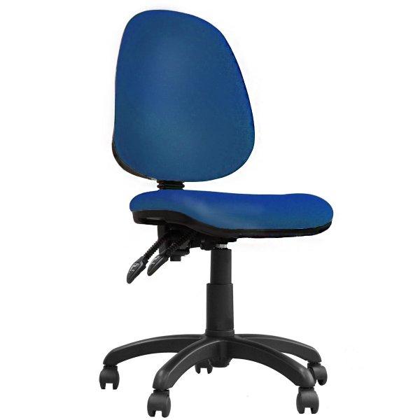 DSK Java 200 Blue High Back Task Operator Chair