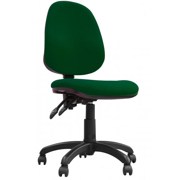 DSK Java 200 Green High Back Task Operator Chair