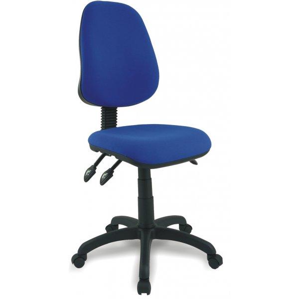 DSK Java 300 Blue High Back Task Operator Chair